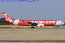 Chofu Spotter Ariaさんが、成田国際空港で撮影したタイ・エアアジア・エックス A330-343Xの航空フォト(飛行機 写真・画像)