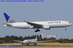 Chofu Spotter Ariaさんが、成田国際空港で撮影したユナイテッド航空 777-222/ERの航空フォト(写真)