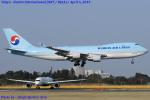 Chofu Spotter Ariaさんが、成田国際空港で撮影した大韓航空 747-4B5F/ER/SCDの航空フォト(飛行機 写真・画像)