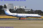 Chofu Spotter Ariaさんが、成田国際空港で撮影したメトロジェット G-V-SP Gulfstream G550の航空フォト(飛行機 写真・画像)