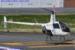 Chofu Spotter Ariaさんが、東京ヘリポートで撮影した日本フライトセーフティ R22 Betaの航空フォト(飛行機 写真・画像)