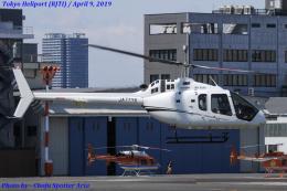 Chofu Spotter Ariaさんが、東京ヘリポートで撮影した雄飛航空 505 Jet Ranger Xの航空フォト(写真)