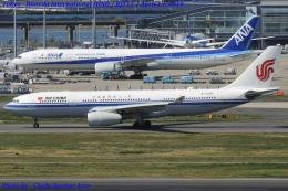 Chofu Spotter Ariaさんが、羽田空港で撮影した中国国際航空 A330-243の航空フォト(写真)