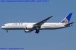 Chofu Spotter Ariaさんが、羽田空港で撮影したユナイテッド航空 787-9の航空フォト(飛行機 写真・画像)