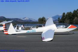 Chofu Spotter Ariaさんが、飛騨エアパークで撮影した日本個人所有 G102 Club Astir IIIbの航空フォト(飛行機 写真・画像)