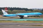 まえちんさんが、成田国際空港で撮影したKLMオランダ航空 777-306/ERの航空フォト(写真)