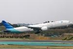 まえちんさんが、成田国際空港で撮影したガルーダ・インドネシア航空 777-3U3/ERの航空フォト(写真)