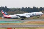 まえちんさんが、成田国際空港で撮影したアメリカン航空 777-223/ERの航空フォト(写真)