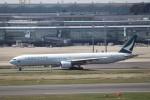 KAZFLYERさんが、羽田空港で撮影したキャセイパシフィック航空 777-367の航空フォト(写真)