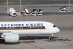 KAZFLYERさんが、羽田空港で撮影したシンガポール航空 A350-941の航空フォト(飛行機 写真・画像)