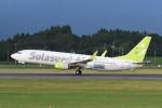 kuro2059さんが、鹿児島空港で撮影したソラシド エア 737-86Nの航空フォト(飛行機 写真・画像)