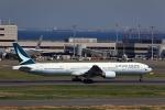 T.Sazenさんが、羽田空港で撮影したキャセイパシフィック航空 777-367の航空フォト(飛行機 写真・画像)