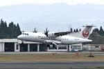 ワイエスさんが、鹿児島空港で撮影した日本エアコミューター ATR-42-600の航空フォト(写真)