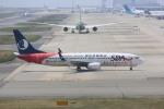 meijeanさんが、関西国際空港で撮影した山東航空 737-85Nの航空フォト(写真)