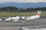 kuro2059さんが、鹿児島空港で撮影した日本エアコミューター DHC-8-402Q Dash 8の航空フォト(写真)