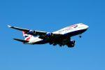 まいけるさんが、スワンナプーム国際空港で撮影したブリティッシュ・エアウェイズ 747-436の航空フォト(写真)