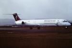 tassさんが、仙台空港で撮影したハーレクィンエア MD-81 (DC-9-81)の航空フォト(飛行機 写真・画像)