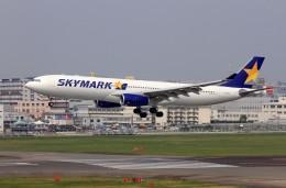 ansett747さんが、福岡空港で撮影したスカイマーク A330-343Xの航空フォト(飛行機 写真・画像)