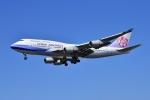 frappéさんが、福岡空港で撮影したチャイナエアライン 747-409の航空フォト(写真)