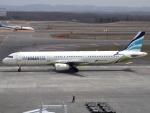 FT51ANさんが、新千歳空港で撮影したエアプサン A321-131の航空フォト(写真)