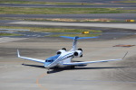 T.Sazenさんが、羽田空港で撮影したウィルミントン・トラスト・カンパニー G650 (G-VI)の航空フォト(写真)