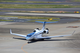 T.Sazenさんが、羽田空港で撮影したウィルミントン・トラスト・カンパニー G650 (G-VI)の航空フォト(飛行機 写真・画像)