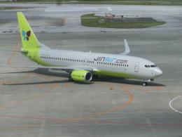 kumagorouさんが、那覇空港で撮影したジンエアー 737-8SHの航空フォト(写真)