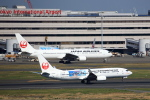 T.Sazenさんが、羽田空港で撮影した日本トランスオーシャン航空 737-8Q3の航空フォト(飛行機 写真・画像)