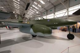 Koenig117さんが、コスフォード空軍基地で撮影したドイツ空軍 Me 262A-2A Schwalbeの航空フォト(飛行機 写真・画像)