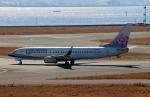 ハピネスさんが、関西国際空港で撮影したチャイナエアライン 737-8ALの航空フォト(飛行機 写真・画像)