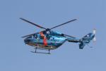 ショウさんが、名古屋飛行場で撮影した秋田県警察 BK117C-1の航空フォト(写真)