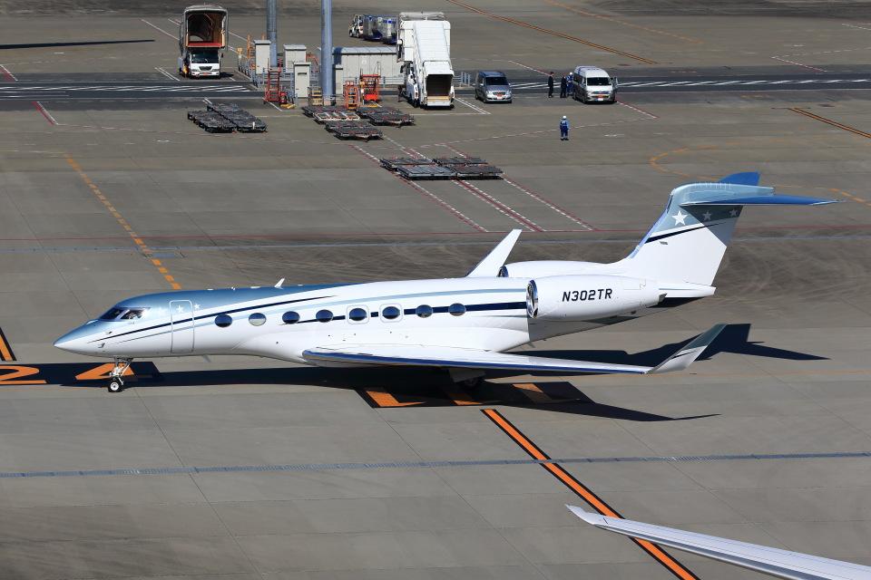 T.Sazenさんのウィルミントン・トラスト・カンパニー Gulfstream Aerospace G650 (G-VI) (N302TR) 航空フォト