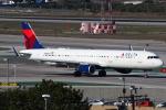 masa707さんが、ロサンゼルス国際空港で撮影したデルタ航空 A321-211の航空フォト(写真)