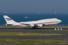 たかしさんが、羽田空港で撮影したドバイ・ロイヤル・エア・ウィング 747-422の航空フォト(飛行機 写真・画像)