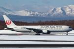 セブンさんが、新千歳空港で撮影した日本航空 767-346/ERの航空フォト(写真)