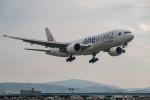 delawakaさんが、福岡空港で撮影した日本航空 777-246の航空フォト(飛行機 写真・画像)