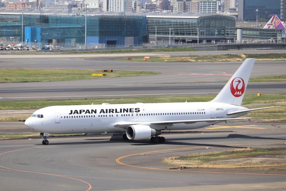KAZFLYERさんの日本航空 Boeing 767-300 (JA613J) 航空フォト