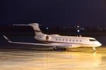 E-75さんが、函館空港で撮影したマークプラン・チャーター Gulfstream G650 (G-VI)の航空フォト(写真)