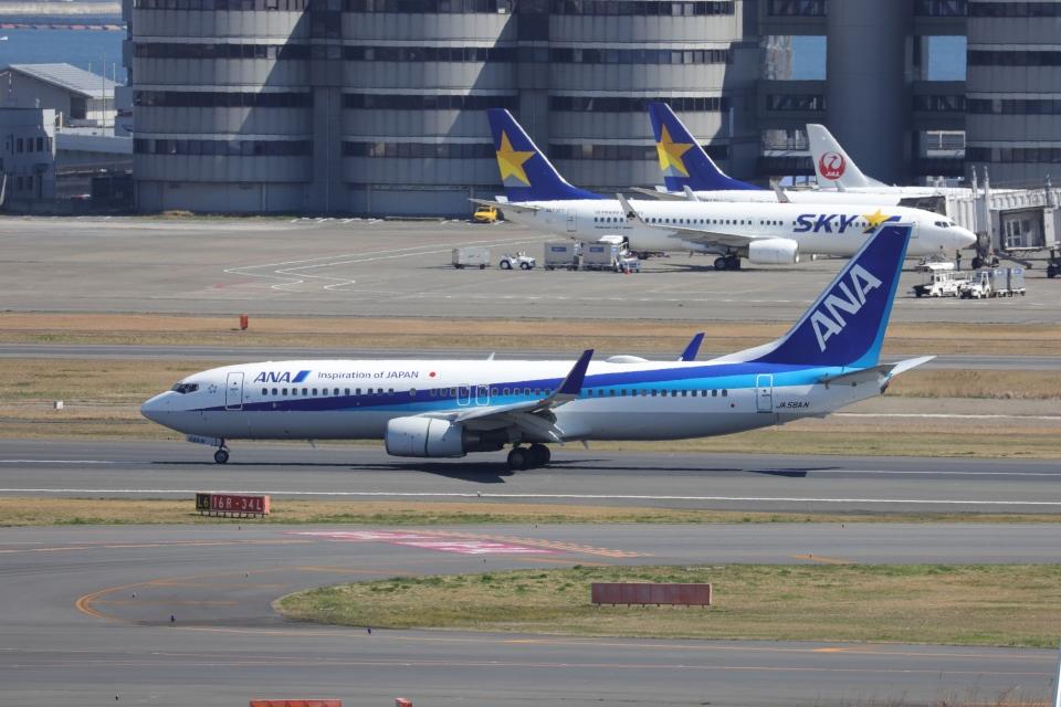 OS52さんの全日空 Boeing 737-800 (JA56AN) 航空フォト