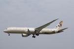 senbaさんが、成田国際空港で撮影したエティハド航空 787-9の航空フォト(写真)