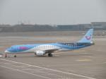 くろぼしさんが、ブリュッセル国際空港で撮影したトゥイ・エアラインズ・ベルギー ERJ-190-100(ERJ-190STD)の航空フォト(写真)