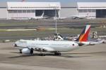 KAZFLYERさんが、羽田空港で撮影したフィリピン航空 A330-343Xの航空フォト(写真)