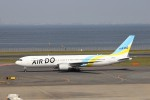 KAZFLYERさんが、羽田空港で撮影したAIR DO 767-381/ERの航空フォト(写真)