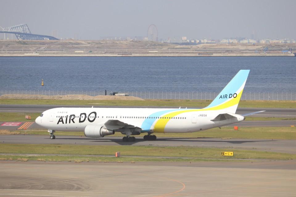 KAZFLYERさんのAIR DO Boeing 767-300 (JA613A) 航空フォト