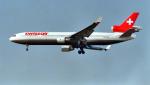 kenko.sさんが、成田国際空港で撮影したスイス航空 MD-11の航空フォト(写真)