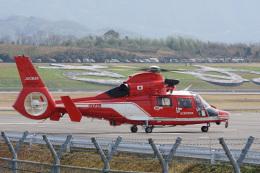神宮寺ももさんが、高松空港で撮影した名古屋市消防航空隊 AS365N3 Dauphin 2の航空フォト(飛行機 写真・画像)
