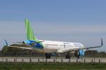 多楽さんが、茨城空港で撮影したバンブー・エアウェイズ A321-251Nの航空フォト(写真)
