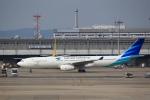 T.Sazenさんが、関西国際空港で撮影したガルーダ・インドネシア航空 A330-343Xの航空フォト(写真)