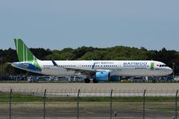 kansaigroundさんが、茨城空港で撮影したバンブー・エアウェイズ A321-251Nの航空フォト(飛行機 写真・画像)