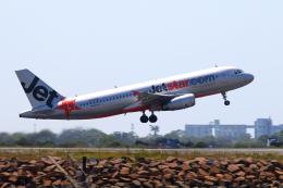かみじょー。さんが、シドニー国際空港で撮影したジェットスター A320-232の航空フォト(飛行機 写真・画像)